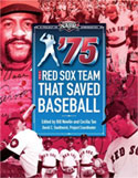1975 Red Sox player biography book