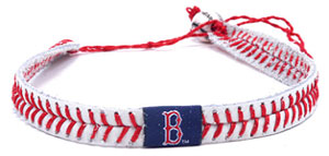 Boston Red Sox baseball seam necklace